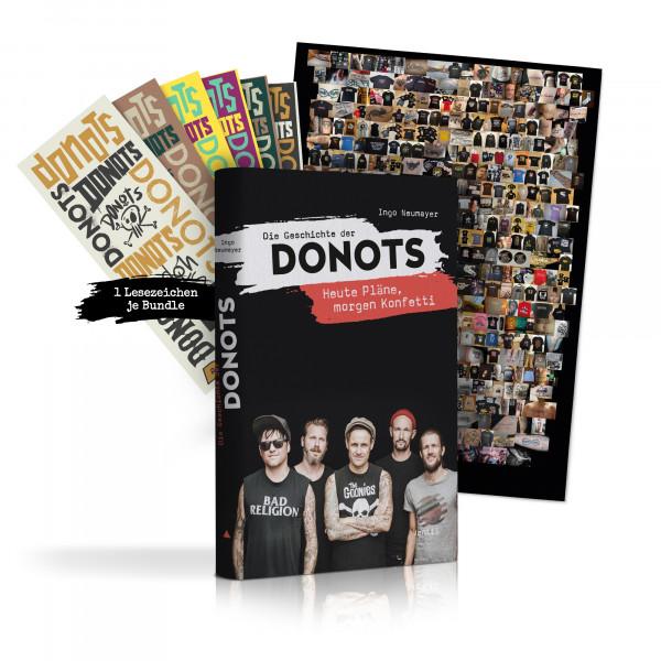Donots Buch - Die Geschichte der Donots (Hardcover, limitierte Version, signiert)