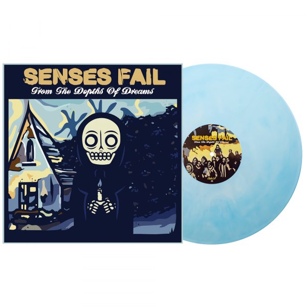 """Senses Fail - From the Depths of Dreams (LP 12"""" 2nd Pressing)"""
