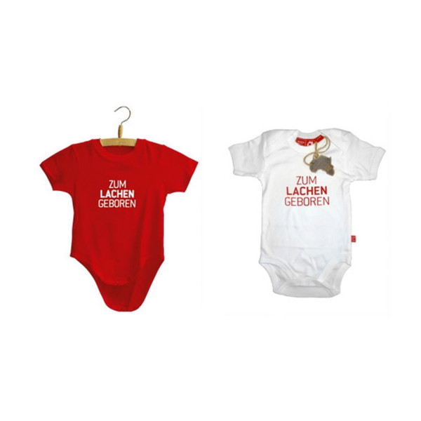 Baby Strampler - Zum Lachen geboren