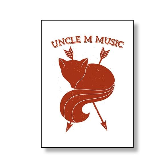 Uncle M - Notizblock - Fuchs (DIN A5)