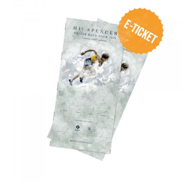 Print@Home Ticket - Hi! Spencer - Osnabrück 18.12.2021 (Jahresabschlusskonzert 2021)