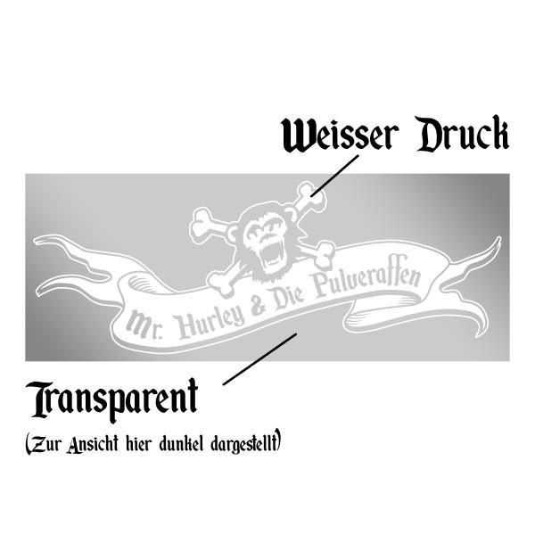 Heckscheibenaufkleber - Logo