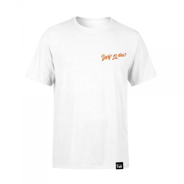 Unisex-Shirt - Darf Er Das? Pocket