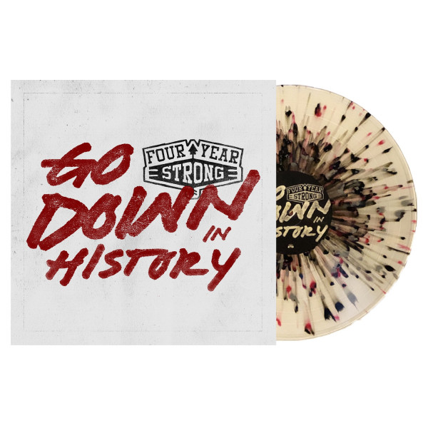 """Four Year Strong - Go Down In History (LP 12"""")"""