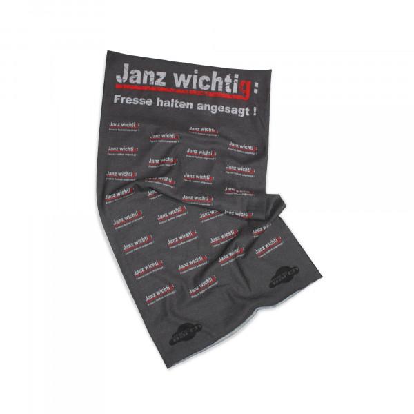 Schlauchschal - Janz wichtig: Fresse halten angesagt!