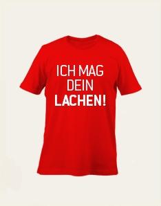 Kids-Shirt - Ich mag dein Lachen