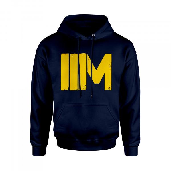 Hoodie - IIM, navy