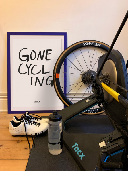 GRL PCK - GONE CYCLING Poster