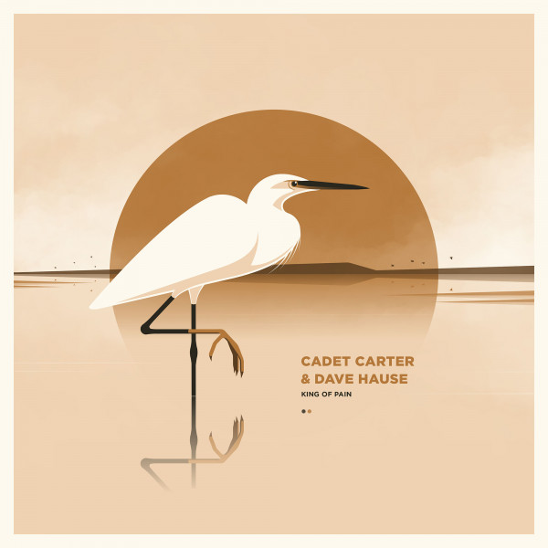 Cadet Carter / Dave Hause - Siebdruckposter - King Of Pain