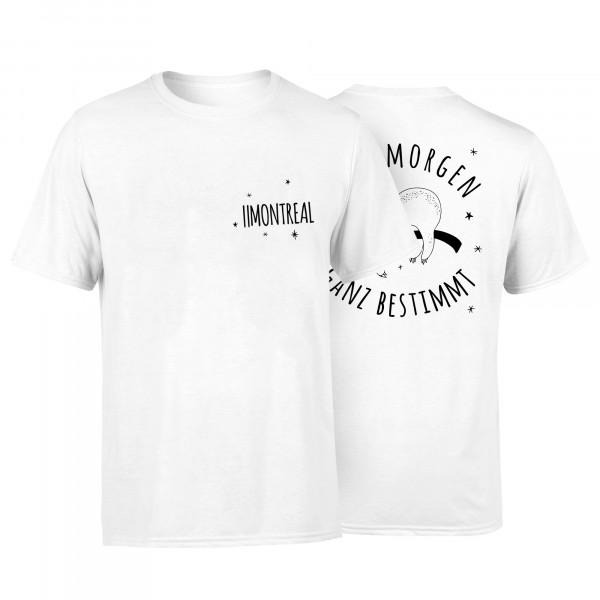 T-Shirt - Faultier, weiss