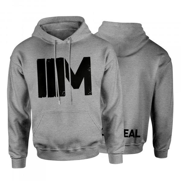 Hoodie - IIM, hellgrau