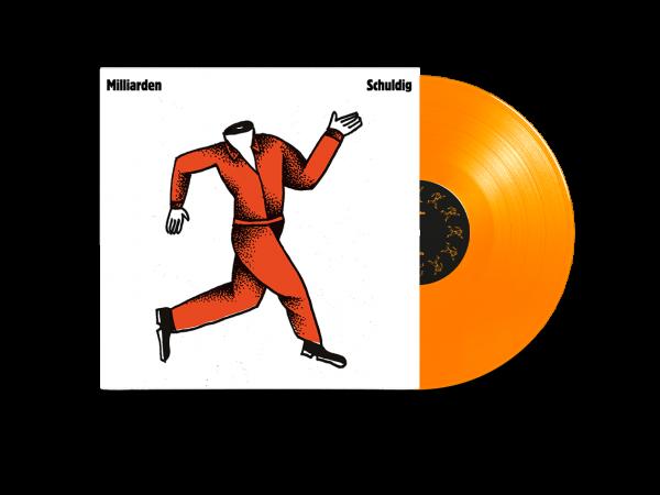 LP - Schuldig (Orange Vinyl)