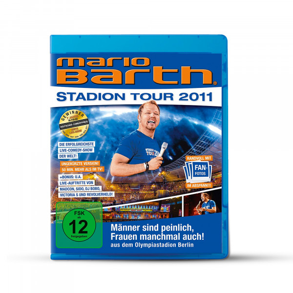 Blu Ray - Stadiontour 2011