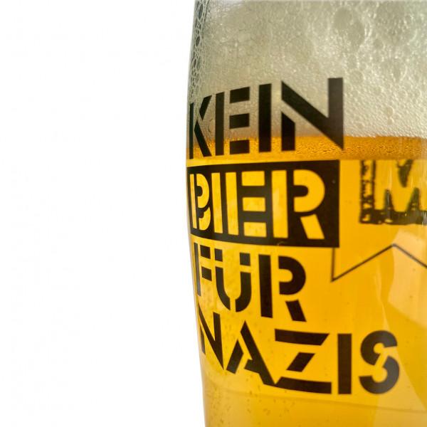 Uncle M - Bierglas - Kein Bier für Nazis