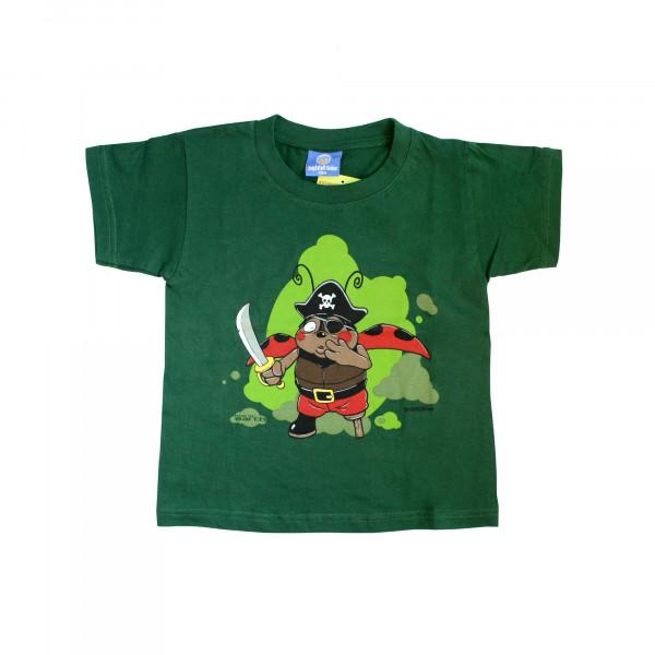 Kinder Shirt - Brüllkäfer Pirat