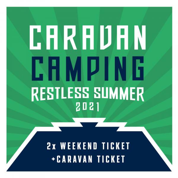 Caravan Camping Ticket - Restless Summer 2021