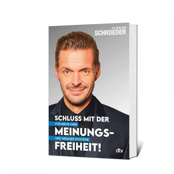 Florian Schroeder Taschenbuch - Schluß mit der Meinungsfreiheit