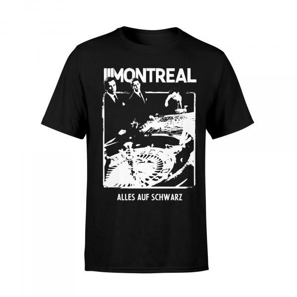 T-Shirt - alles auf schwarz, schwarz
