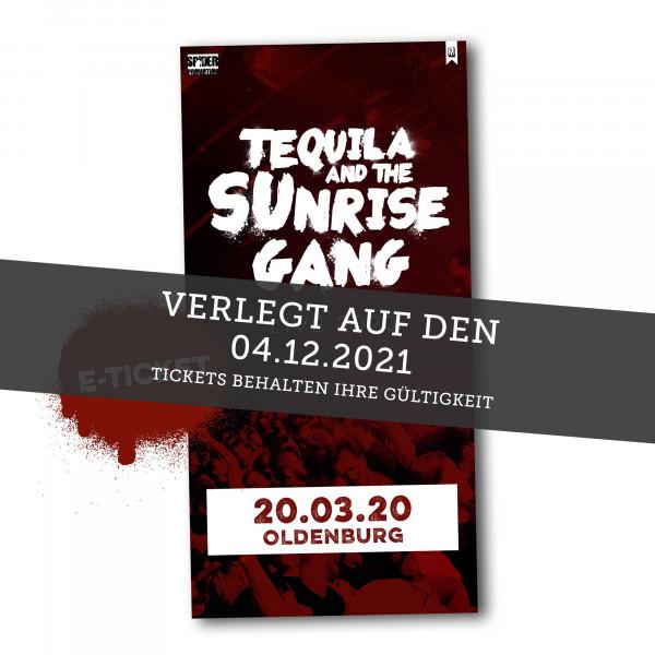 Print@Home Ticket - Tequila & The Sunrise Gang - Oldenburg 04.12.2021 (ehemals 17.04.2021)