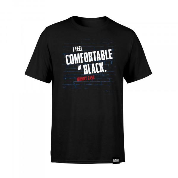 """RADIO BOB! - Shirt """"Comfortable in Black"""""""