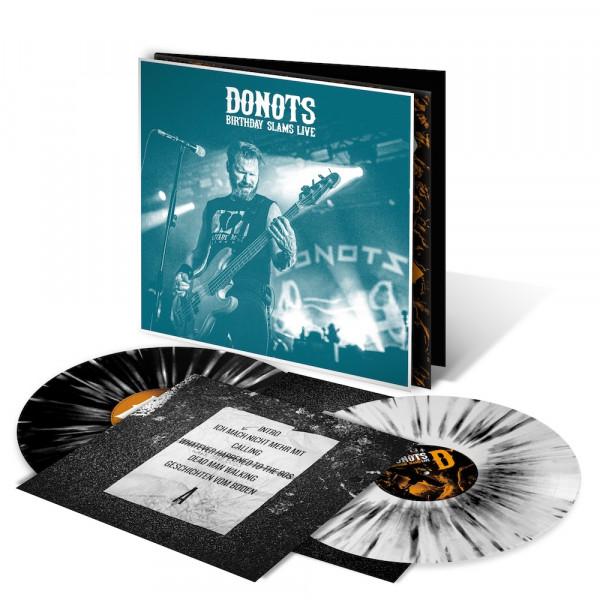 Donots LP - Birthday Slams Live (Neuauflage 2021) - Purgen (limitiert) + signiert