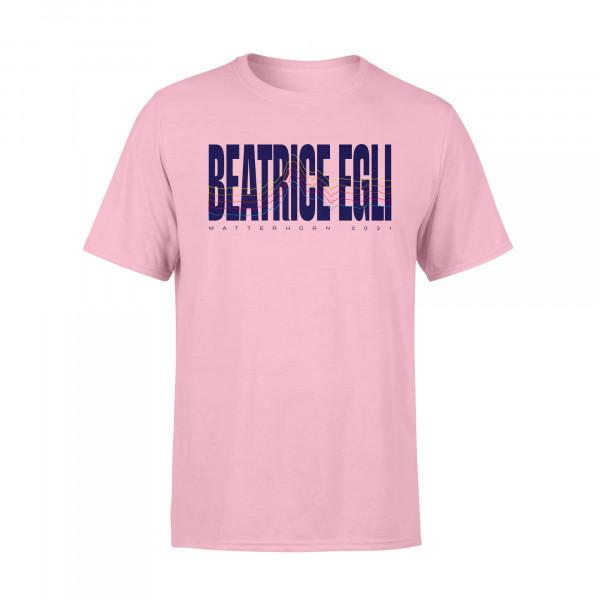 T-Shirt - Bergkontur (rosa)
