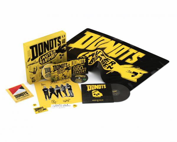 Donots Limited Fanbox - Lauter Als Bomben (inkl. CD, DVD und Vinyl Single) (2018)