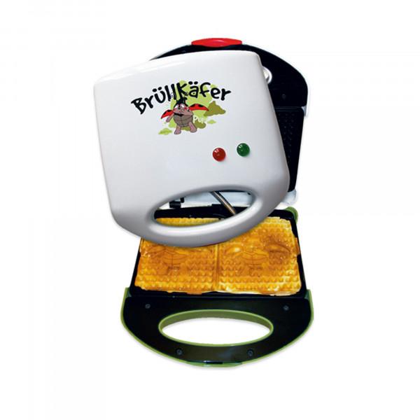 Waffeleisen - Brüllkäfer (mit 3D-Logo Backform)