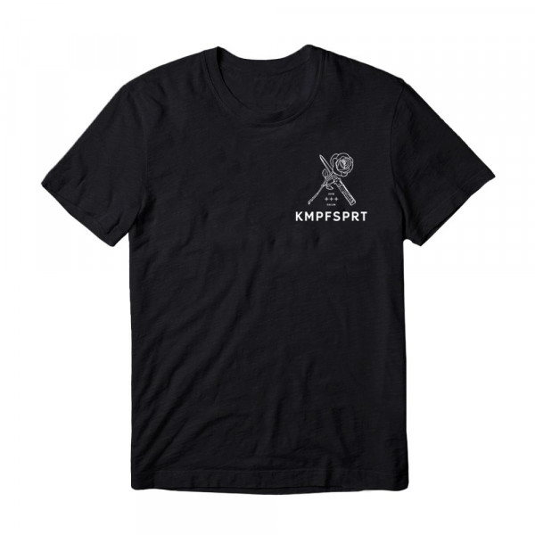 KMPFSPRT - T-Shirt - Dolch & Rose