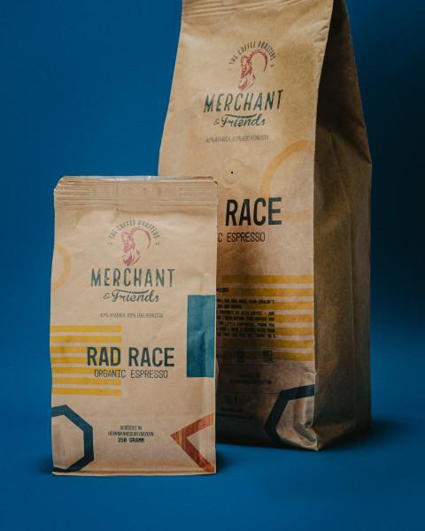 RAD RACE x Merchant and Friends Coffee