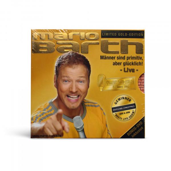 CD - Männer sind primitiv, LIVE (Limited Gold Edition)
