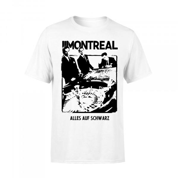 T-Shirt - alles auf schwarz, weiss