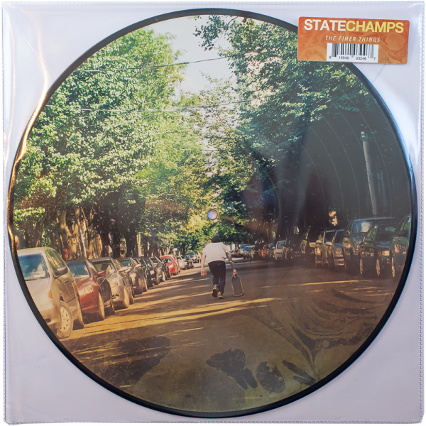 """State Champs - The Finer Things (LP 12"""" 6th Pressing - Picture Disc)"""