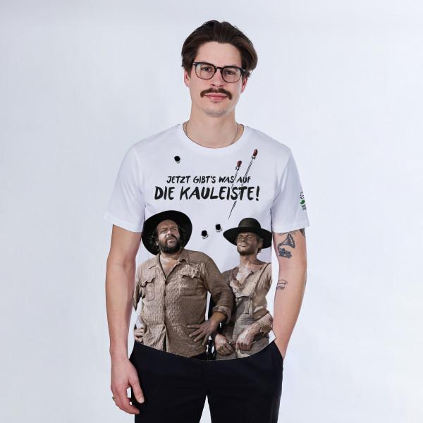 T-Shirt- Jetzt gibt´s was auf die Kauleiste