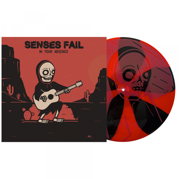 """Senses Fail - In Your Absence (LP 12"""" 3rd Pressing)"""