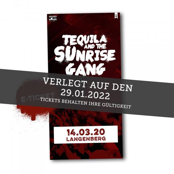 Print@Home Ticket - Tequila & The Sunrise Gang - Langenberg 29.01.2022 (ehemals 27.03.2021)