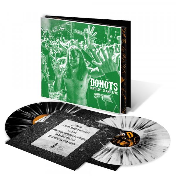 Donots LP - Birthday Slams Live (Neuauflage 2021) - Eike (limitiert) + signiert