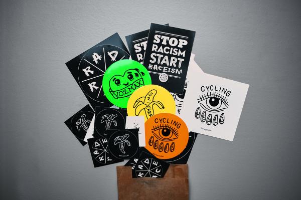 RAD RACE – Sticker Pack