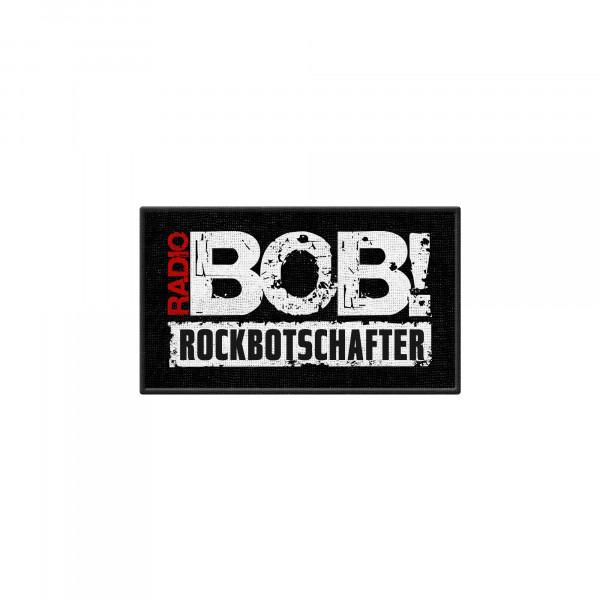 "RADIO BOB! - Patch ""Rockbotschafter"""