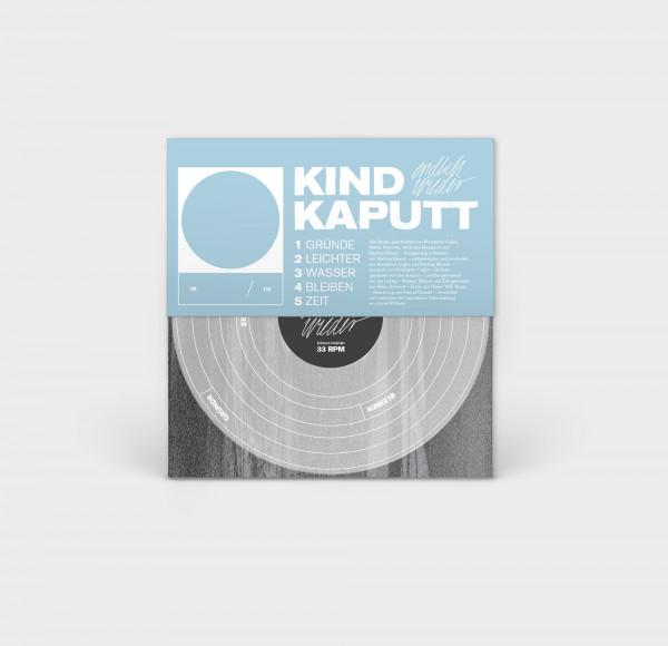 """Kind Kaputt - Endlich Wieder (EP 12"""" - blaue Version)"""