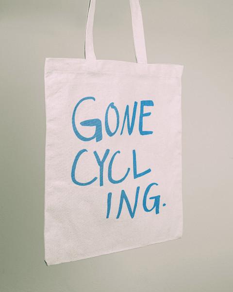 GRL PCK - Gone Cycling Tote Bag