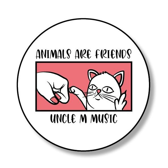 Uncle M - Kühlschrank-Magnet - Animals Are Friends