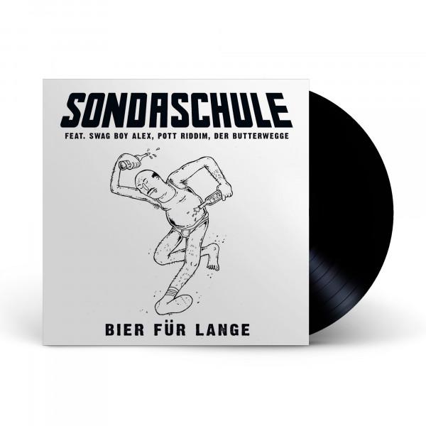 """7"""" Vinyl - Sondaschule feat. Swag Boy Alex, Pott Riddim, Der Butterwegge - Bier für Lange"""
