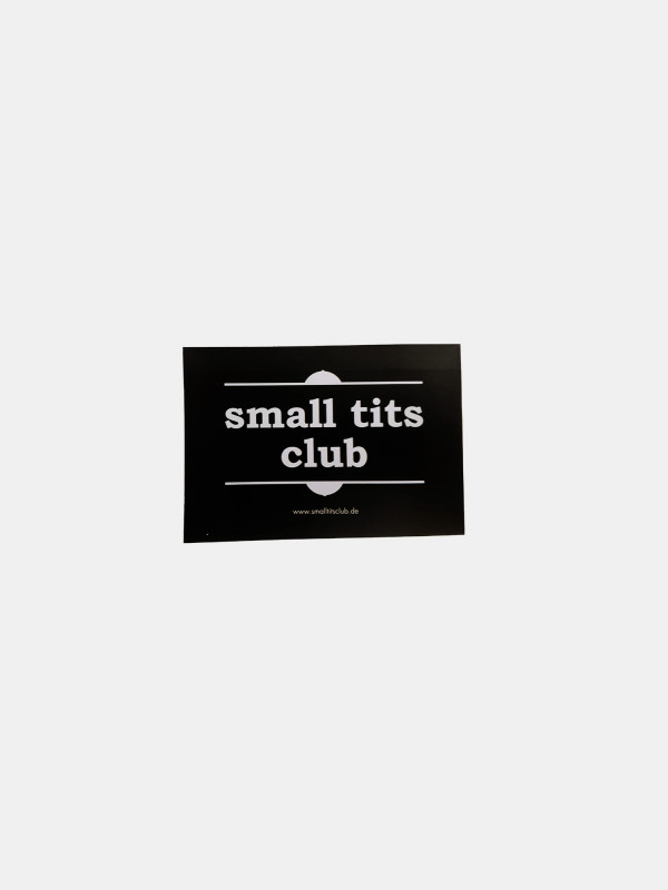 Sticker - small tits club