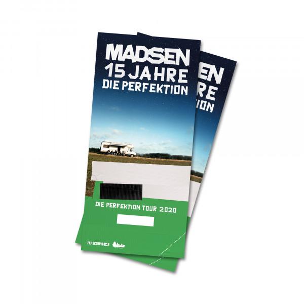 Hardticket - Leipzig, 30.04.2022 (verl. vom 04.04.2020)