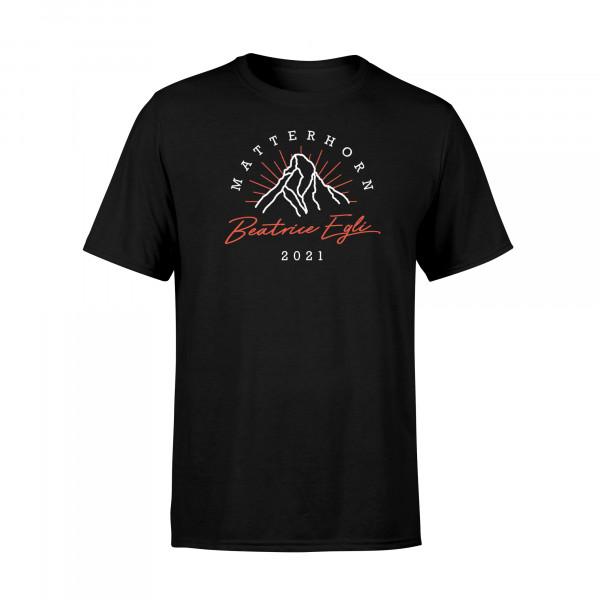 T-Shirt - Matterhorn (schwarz)