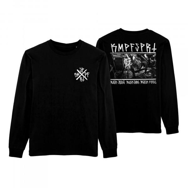 KMPFSPRT - Longsleeve - Black Jeans, Black Shirt, Black Fööss