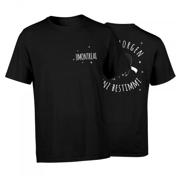 T-Shirt - Faultier, schwarz