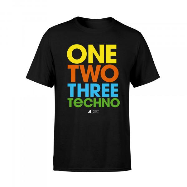 Alex Christensen - Unisex Shirt - 1, 2, 3 Techno