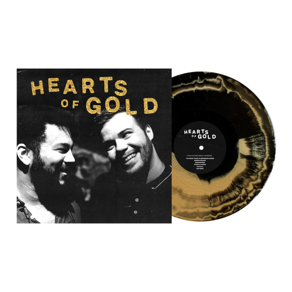 """Dollar Signs - Hearts Of Gold (LP 12"""")"""